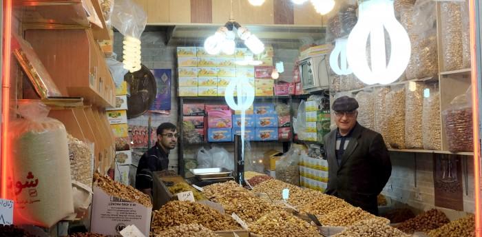 pano notenhandelaar kashan